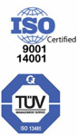 ZenPure ISO 9001, 14001 and TUV Certification